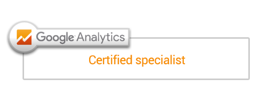 Certified Google Analytics Specialist