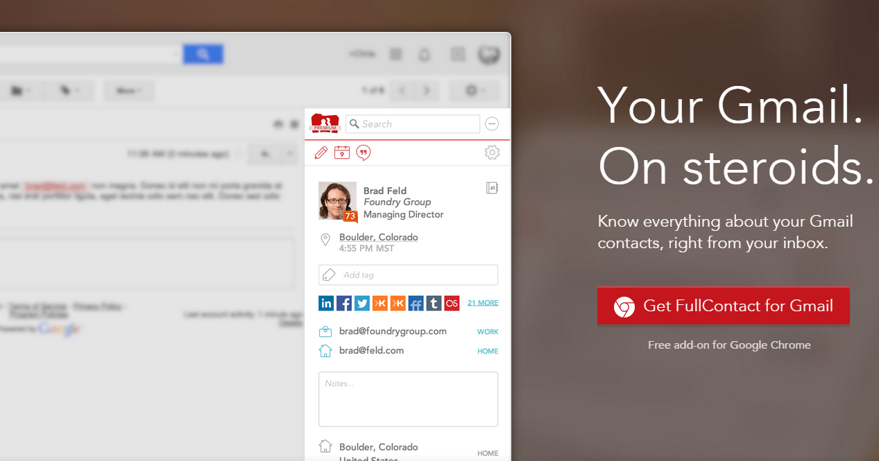 Gmail on steroids!